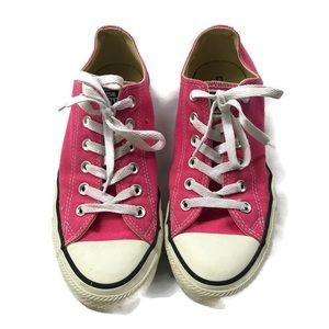 CONVERSE Unisex Hot PINK SNEAKERS Womens 9 Men's 7